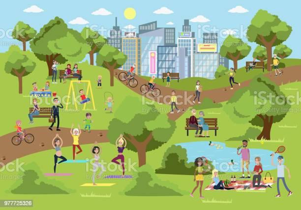 Public park in the city vector id977725326?b=1&k=6&m=977725326&s=612x612&h=aid4hnbheuuazdjbqb7q6kwtjbz8liwgxblxdclncte=