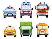 Public service vehicles.