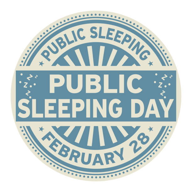 public sleeping day rubber stamp - old man sitting backgrounds stock illustrations, clip art, cartoons, & icons