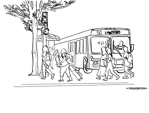Public Transit And Pedestrians