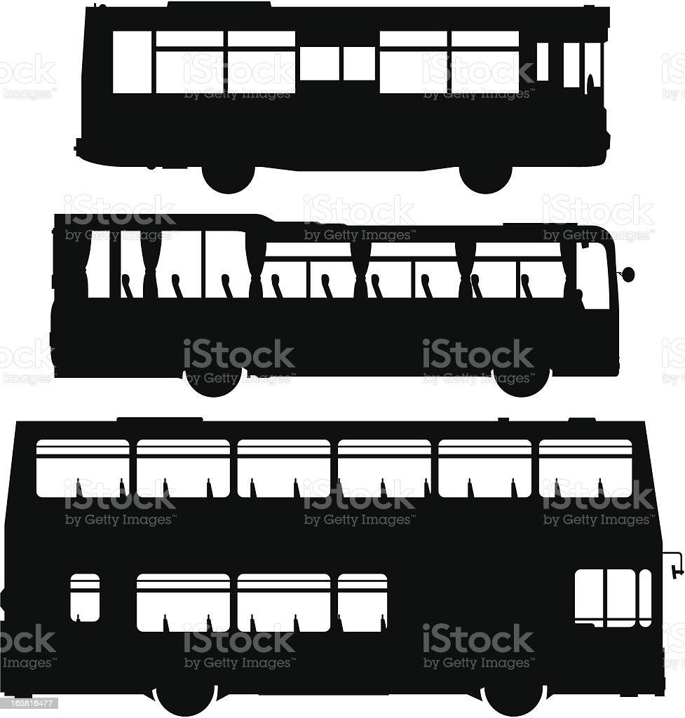 Public Transport royalty-free stock vector art