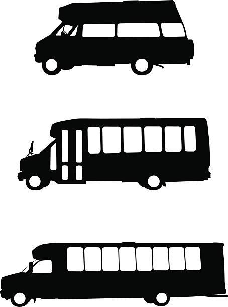 Best Shuttle Bus Illustrations Royalty Free Vector