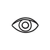 Publish content button sketch icon