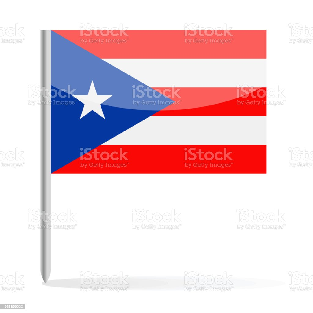 Puerto rico flag pin vector icon stock vector art more images of puerto rico flag pin vector icon royalty free puerto rico flag pin vector icon stock biocorpaavc Image collections