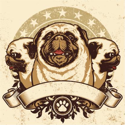 Pug Crest Design
