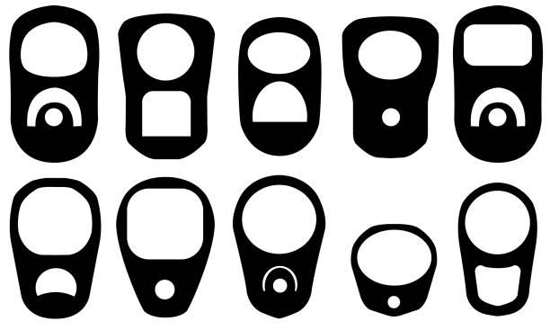 ilustrações de stock, clip art, desenhos animados e ícones de pull rings - latão