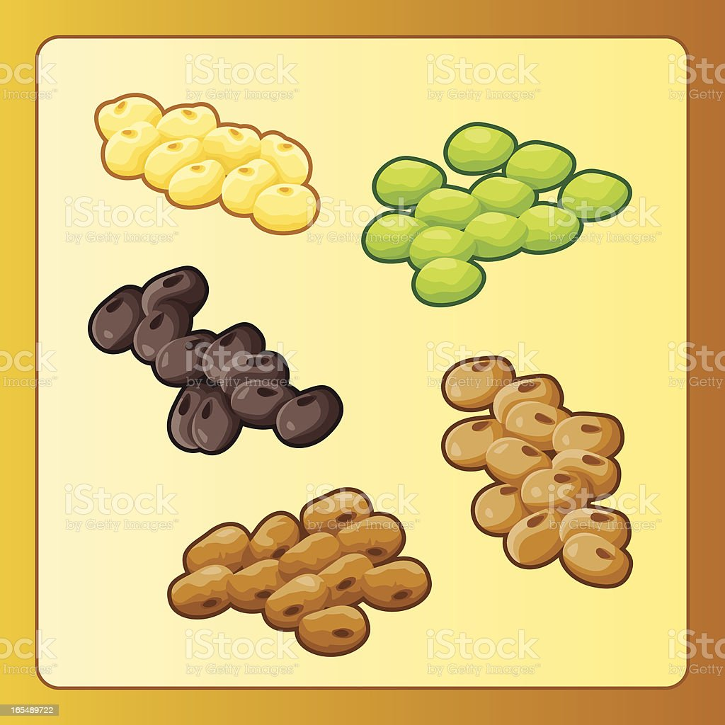 Pulses royalty-free pulses stock vector art & more images of bean
