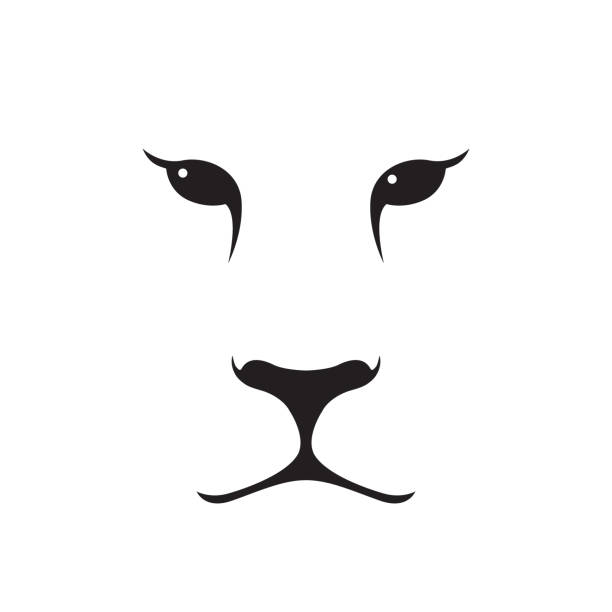Simple Tiger Tattoo Illustrations Royalty Free Vector Graphics