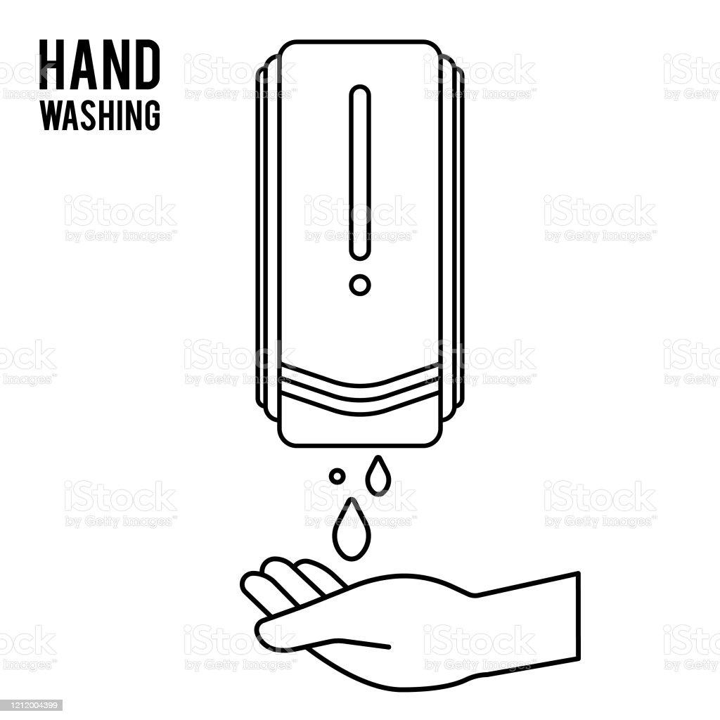 Pump Hand Wash Hand Sanitizer Alcoholbased Hand Rub