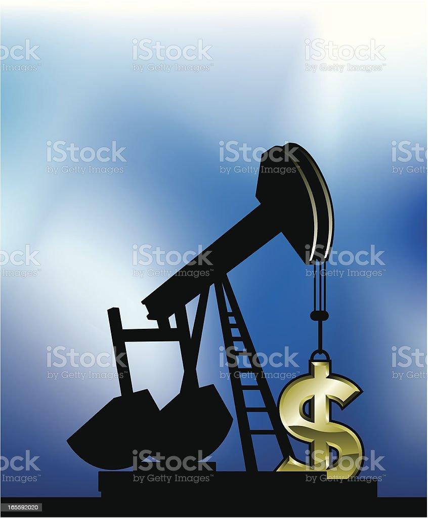 pump money maker royalty-free pump money maker stock vector art & more images of cloud - sky