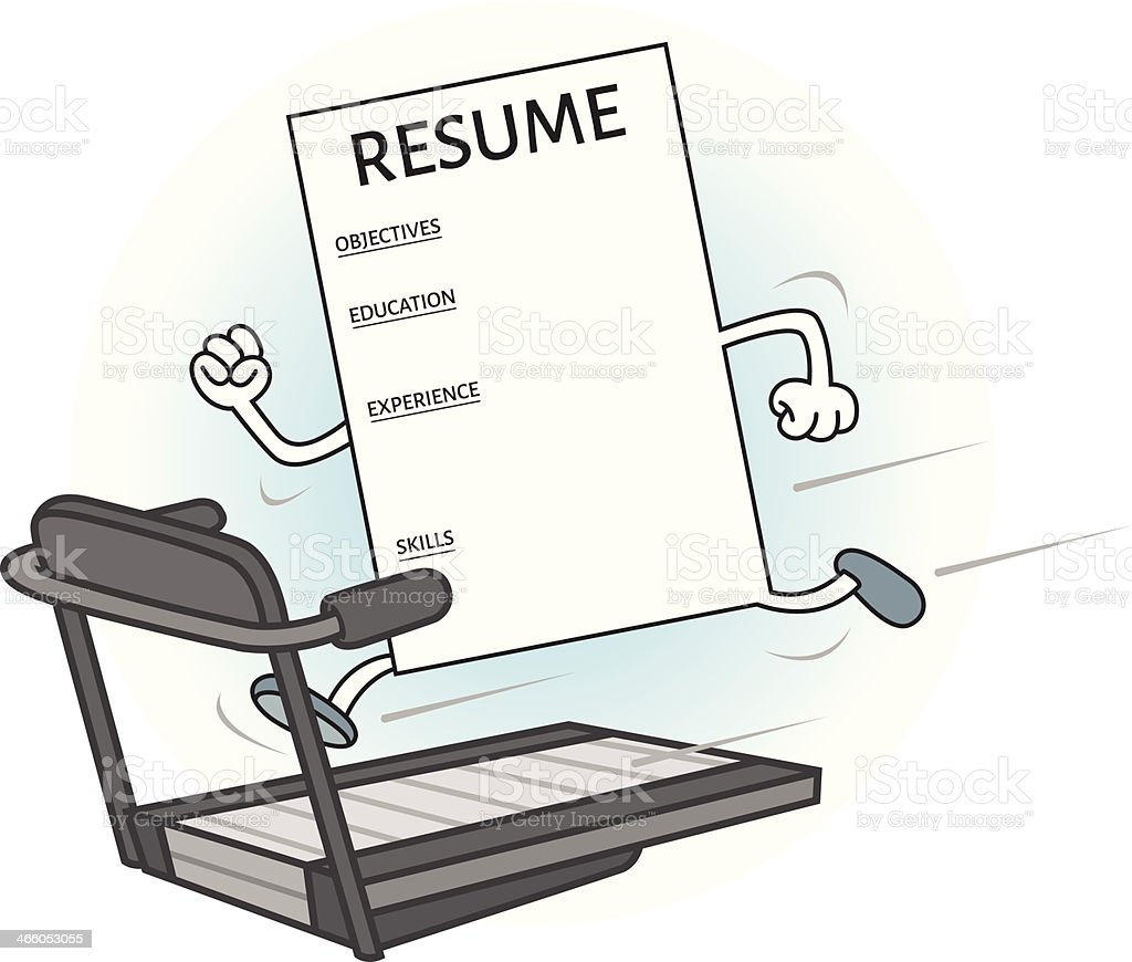 Pump up your resume royalty-free pump up your resume stock vector art & more images of education