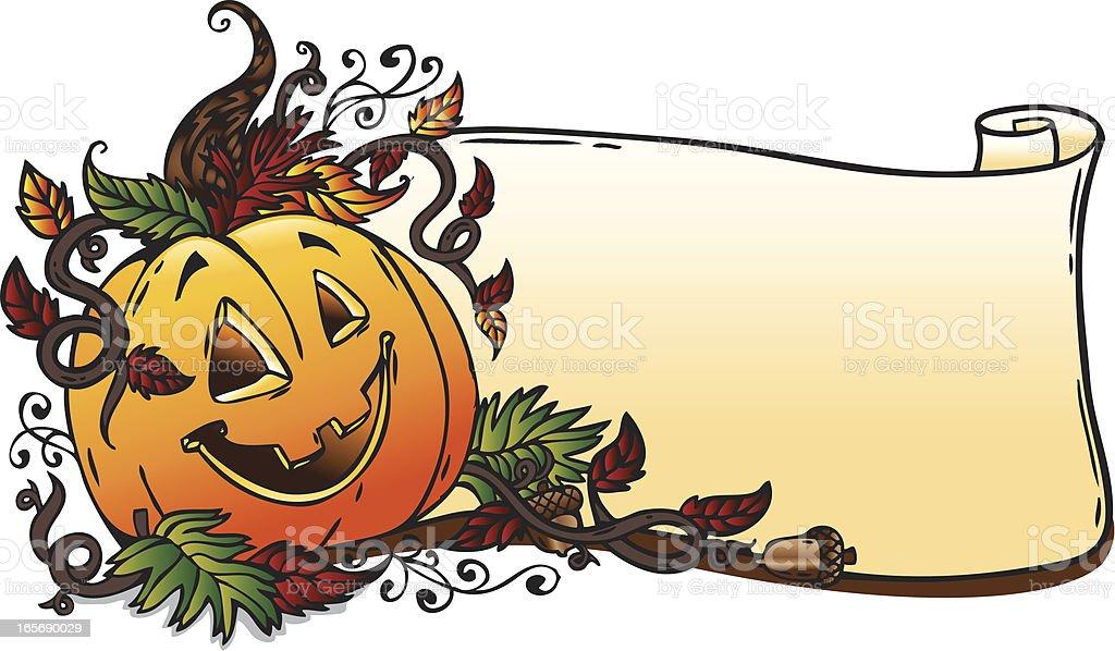 Pumpkin Banner royalty-free pumpkin banner stock vector art & more images of autumn