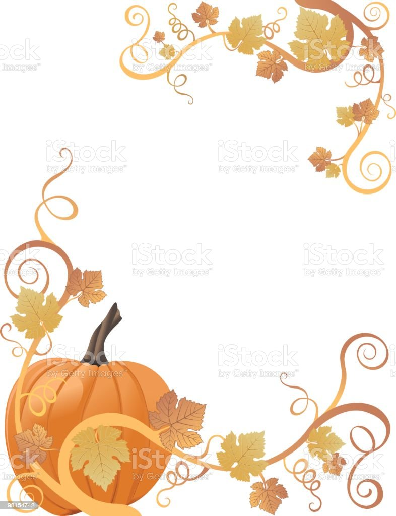 Pumpkin Border royalty-free pumpkin border stock vector art & more images of autumn