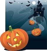 Pumpkin Halloween Night