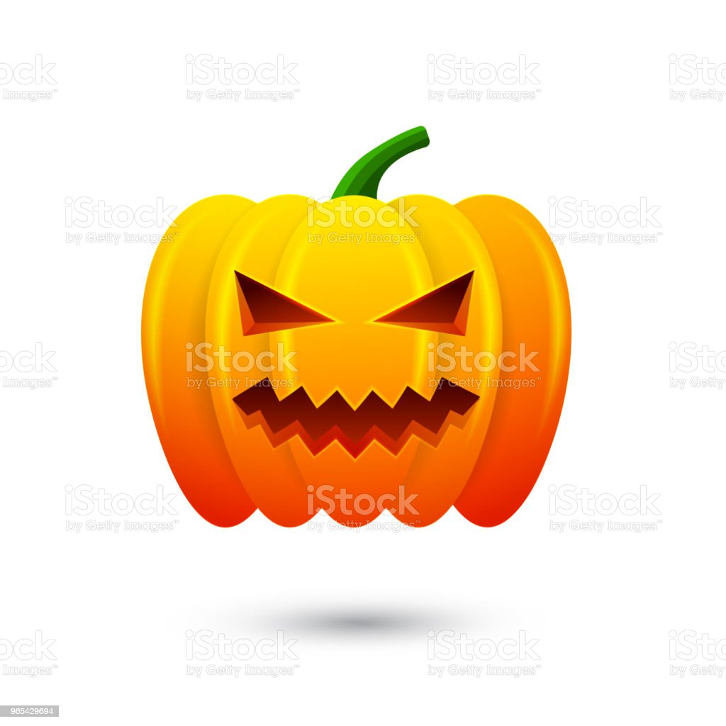 Pumpkin icon for happy halloween. Isolated on white background. Vector Illustration royalty-free pumpkin icon for happy halloween isolated on white background vector illustration stock vector art & more images of abstract