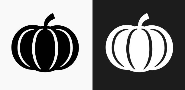 Royalty Free Pumpkin Black And White Clip Art Clip Art Vector