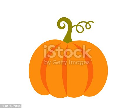 Pumpkin icon. Vector illustration.