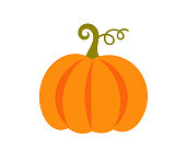 istock Pumpkin icon. 1181407344