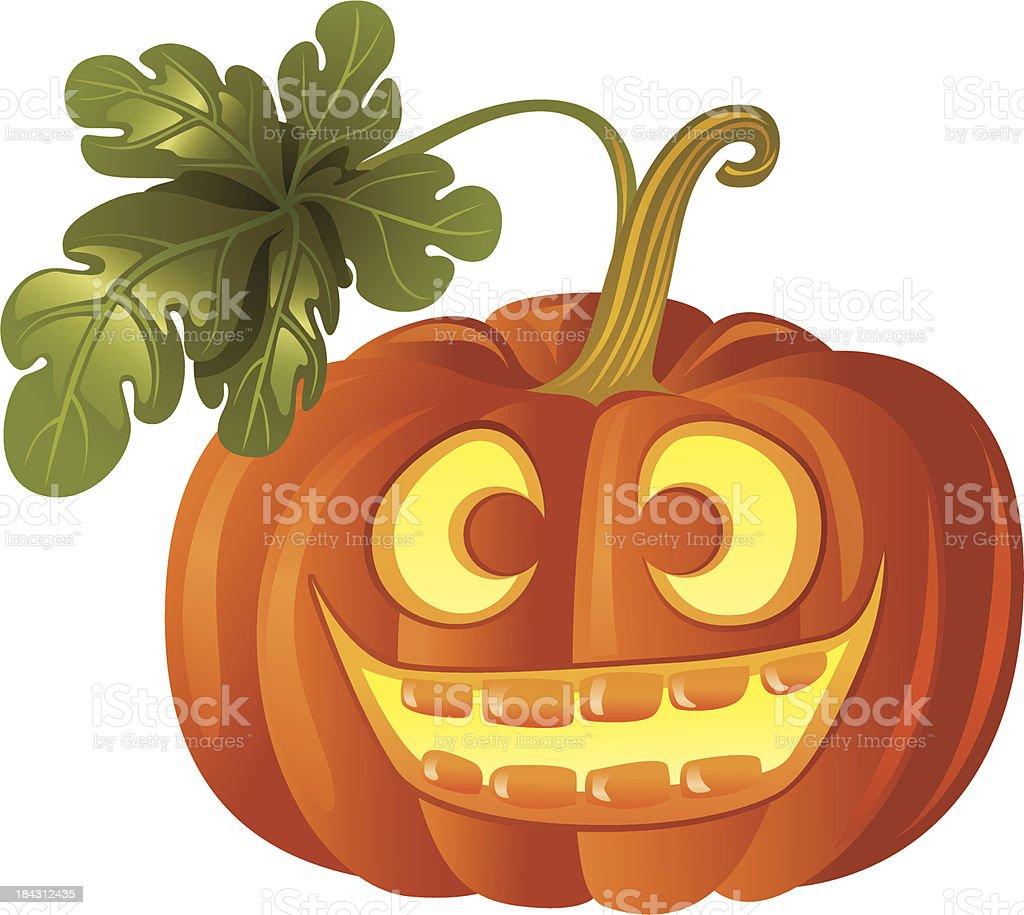 Pumpkin Jack O'lantern royalty-free stock vector art
