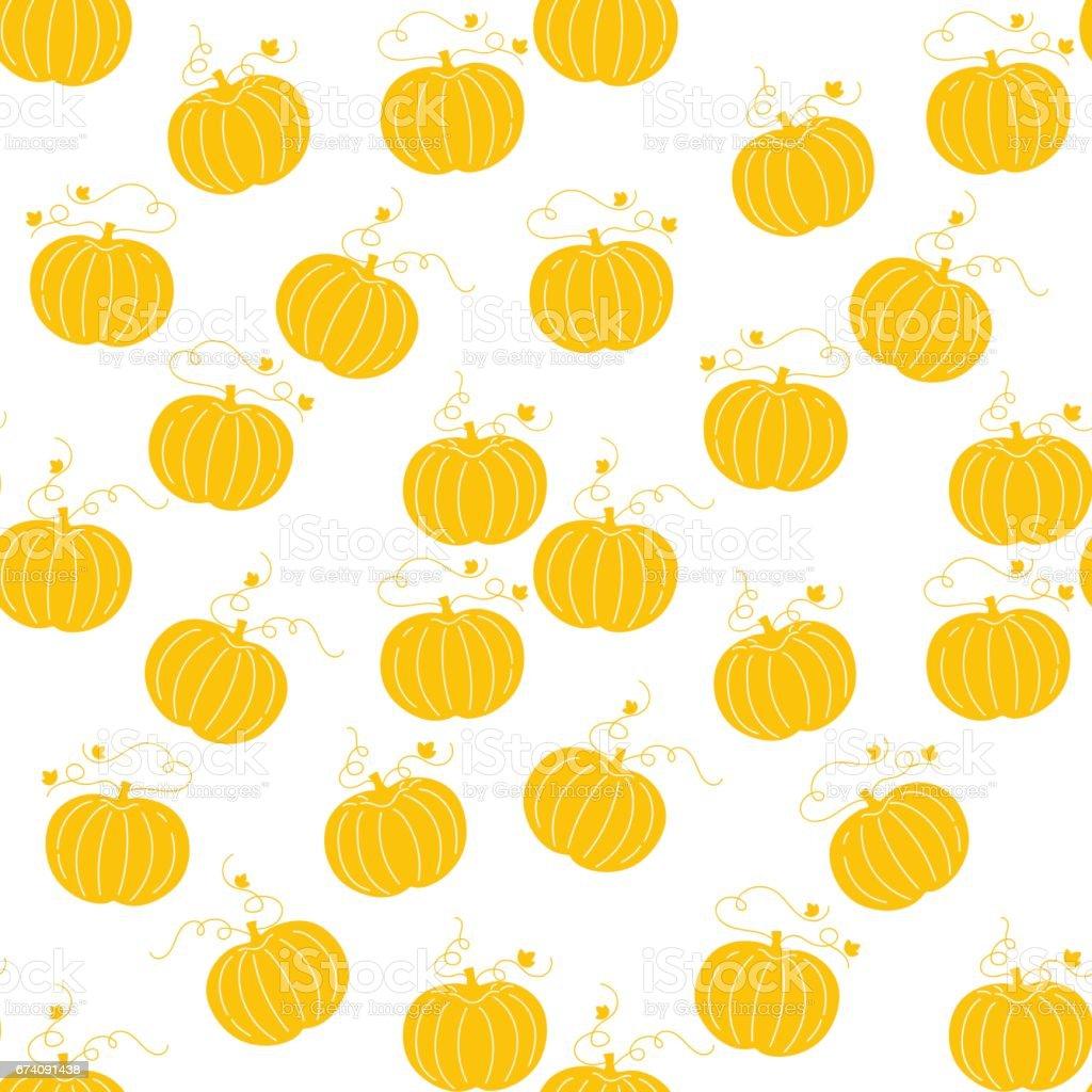 pumpkin pattern royalty-free pumpkin pattern stock vector art & more images of art