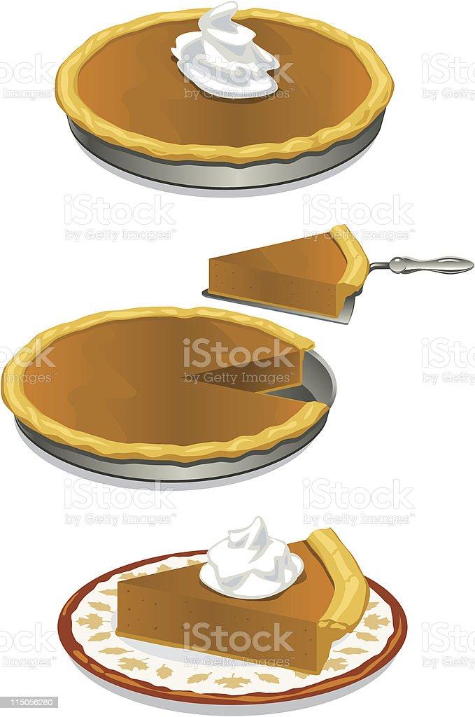 Pumpkin pie art royalty-free pumpkin pie art stock vector art & more images of autumn