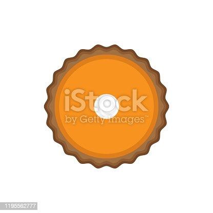istock Pumpkin pie 1195562777