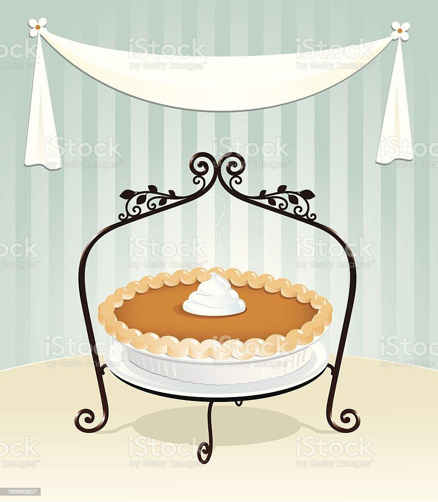 Pumpkin Pie royalty-free pumpkin pie stock vector art & more images of baking