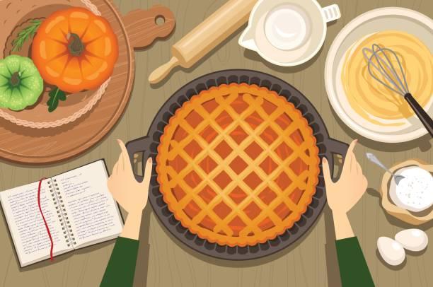 南瓜餅 - pumpkin pie 幅插畫檔、美工圖案、卡通及圖標