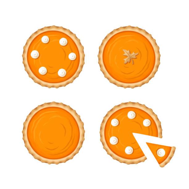 南瓜餡餅。向量圖。 - pumpkin pie 幅插畫檔、美工圖案、卡通及圖標