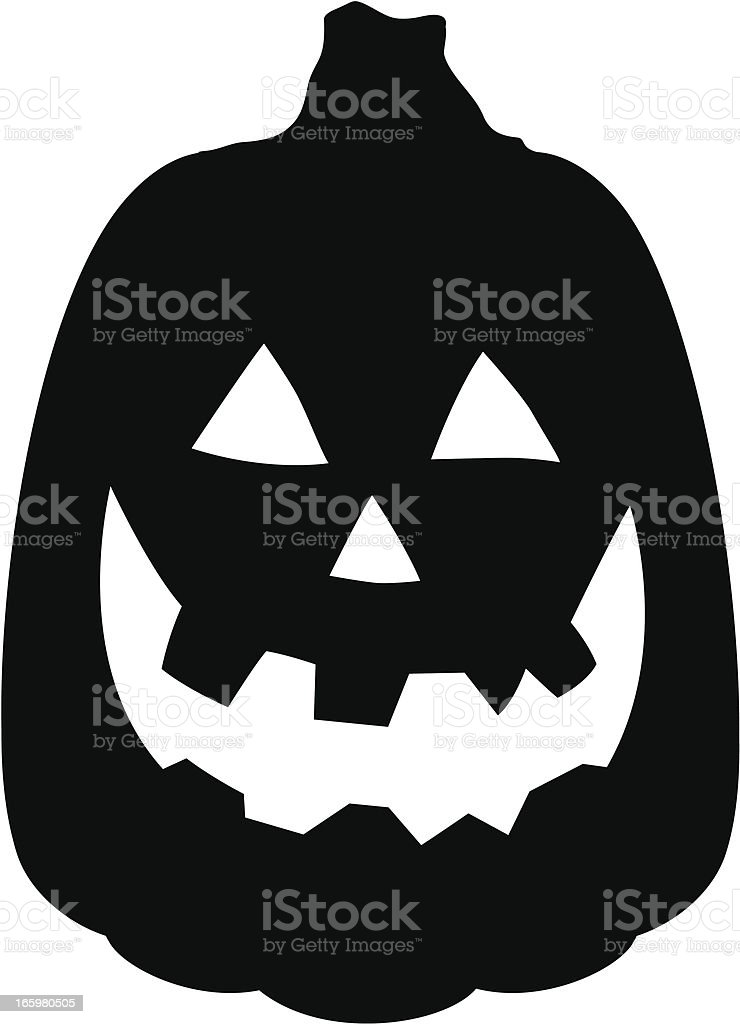 344c3977b4c50 Pumpkin Silhouette royalty-free pumpkin silhouette stock vector art  amp   more images of bad