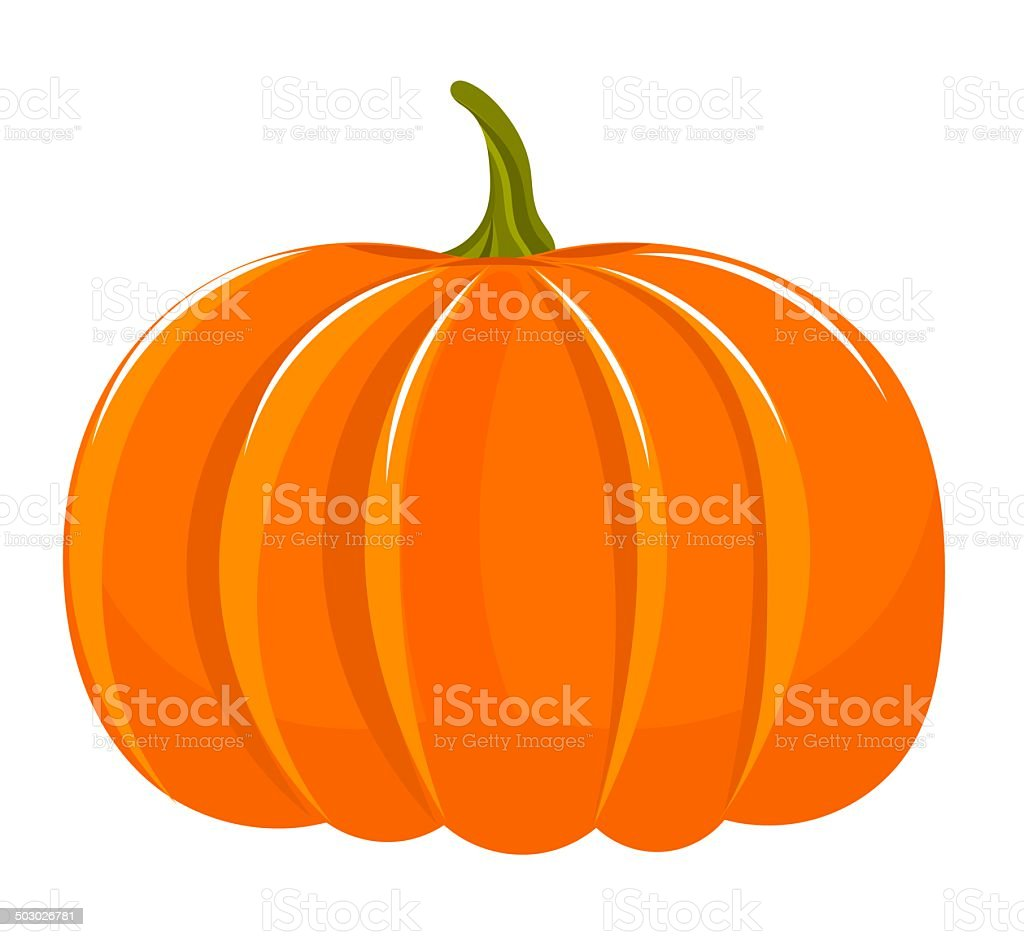 pumpkin stem clip art, vector images & illustrations - istock