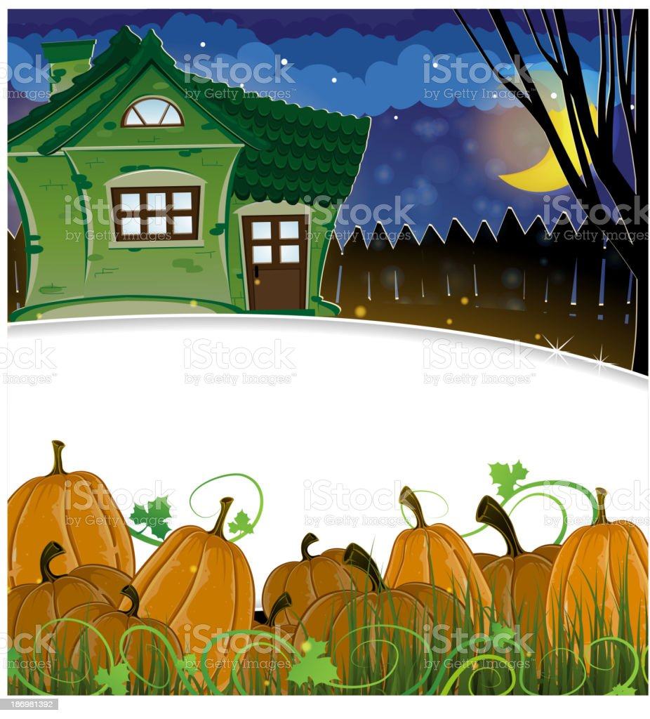 Pumpkins and brick house royalty-free pumpkins and brick house stock vector art & more images of autumn