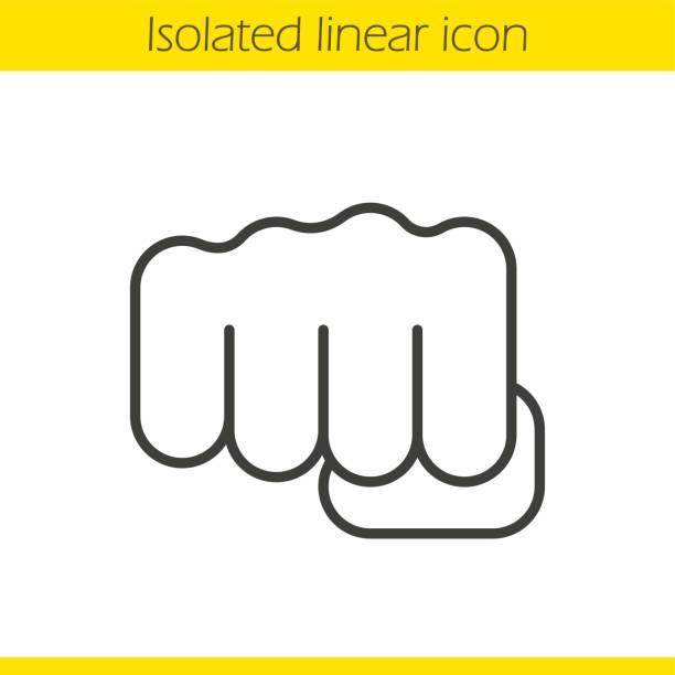 stockillustraties, clipart, cartoons en iconen met punch-pictogram - punch