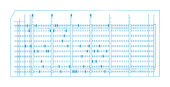 Punched Press Card
