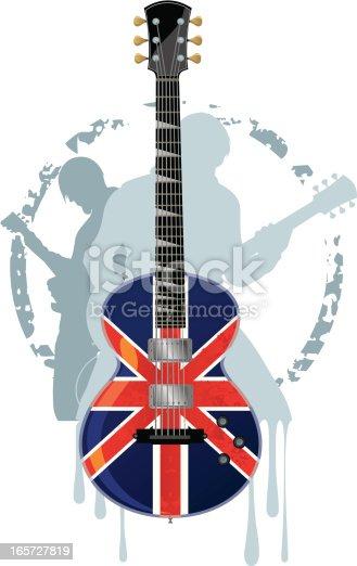 istock Punk-Rock Guitar 165727819
