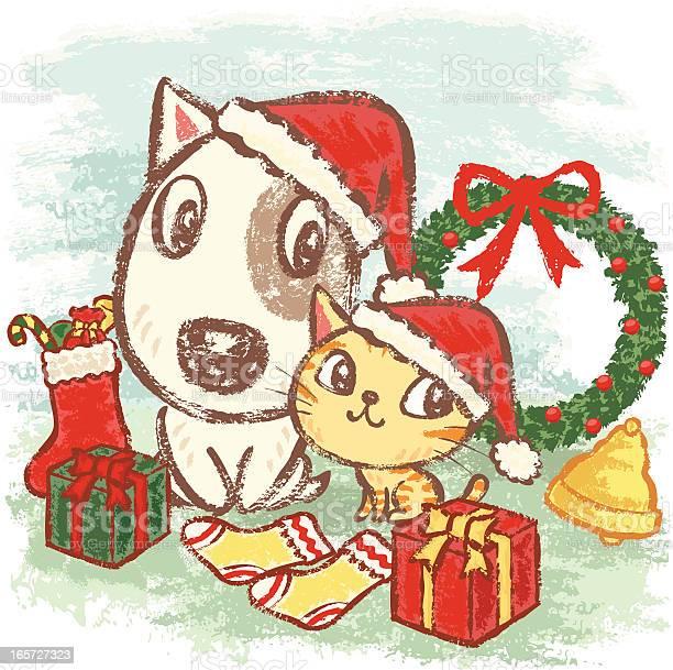 Puppy and kitten at christmas vector id165727323?b=1&k=6&m=165727323&s=612x612&h=brwt7q9dmpwqlh fkqu24 74pwrsjrqmqeo79lljbsi=