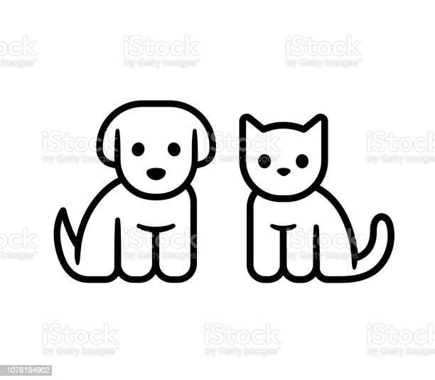 Puppy and kitten icon vector id1076194902?b=1&k=6&m=1076194902&s=612x612&h=jcxbpl1ygcjub5thnkxychpyz0bn2ehmguzshwhkavq=