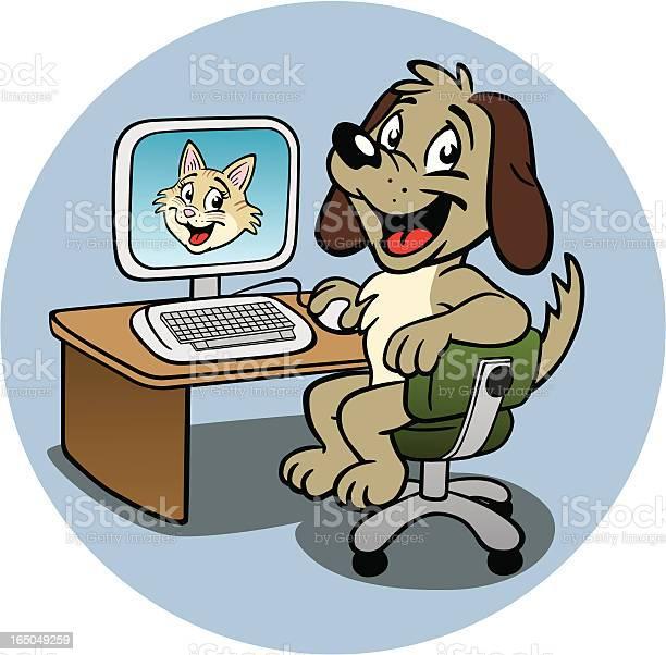 Puppy at computer vector id165049259?b=1&k=6&m=165049259&s=612x612&h=o4moyhibspcuw3 b9i zhjma5461acufnhyuzitrkjc=