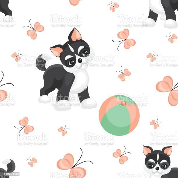 Puppy playing with a ball vector id668583008?b=1&k=6&m=668583008&s=612x612&h=kpchhonukvjkp1d qa67kfs5datbcrrkmdtsvjpefry=