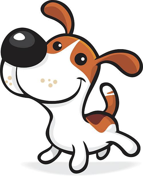welpe - schoßhunde stock-grafiken, -clipart, -cartoons und -symbole