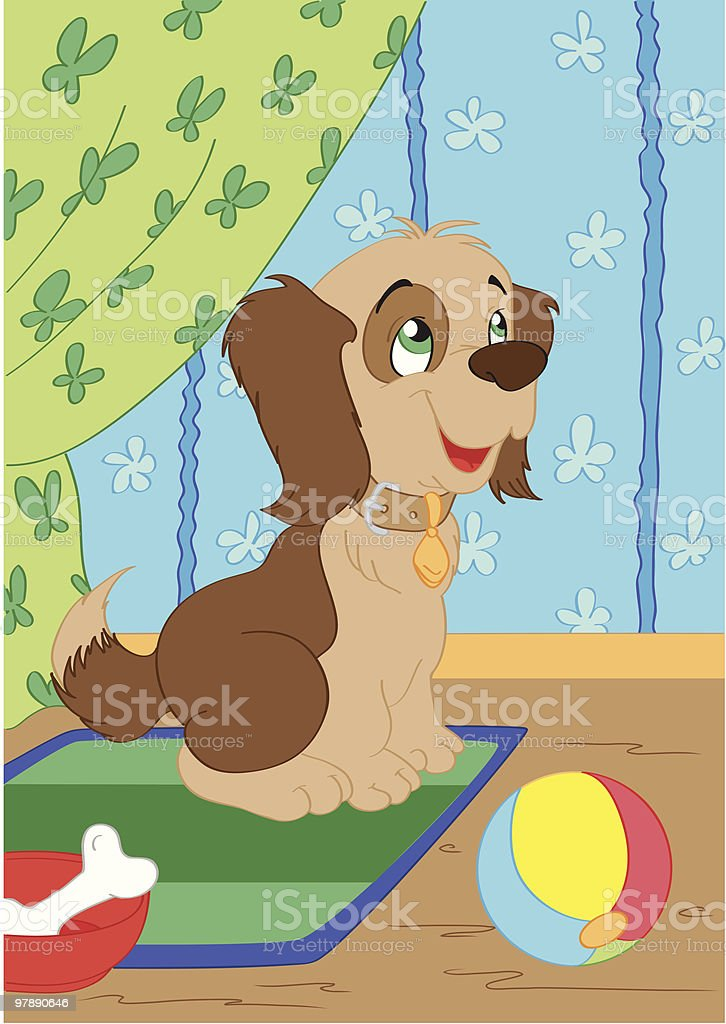 Puppy royalty-free puppy stock vector art & more images of animal