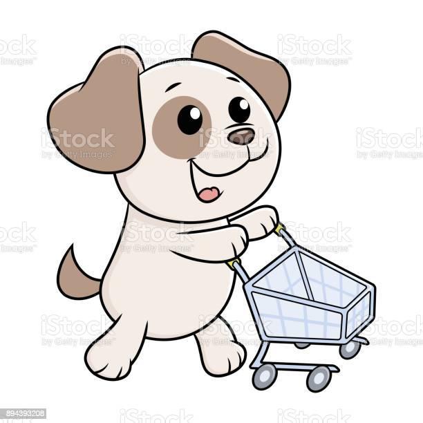 Puppy with shopping cart vector id894393208?b=1&k=6&m=894393208&s=612x612&h=obxes0dn7b0afckj6opt6gf3m9enew av2cbmx iak8=