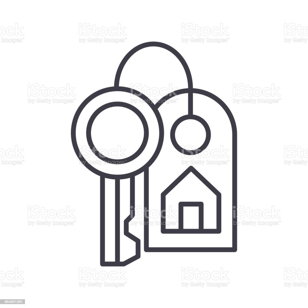 Purchase of real estate black icon concept. Purchase of real estate flat  vector symbol, sign, illustration. royalty-free purchase of real estate black icon concept purchase of real estate flat vector symbol sign illustration stock vector art & more images of agreement