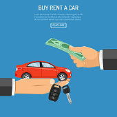 purchase or rental car