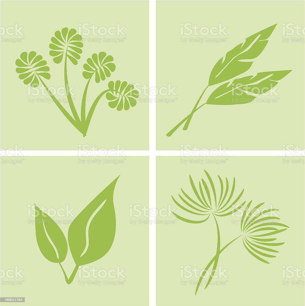 Pure and Natural Symbols ( Vector ) royalty-free stock vector art