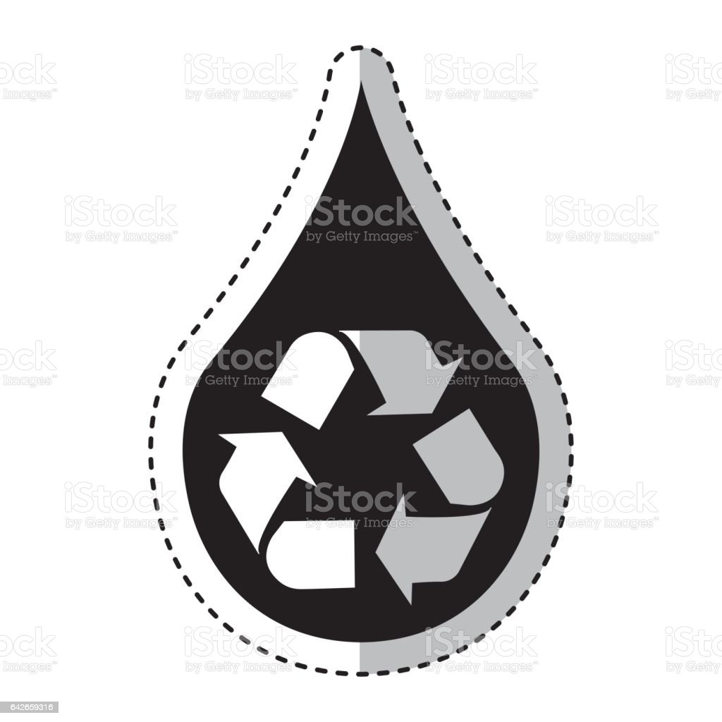 Pure water with recycle symbol stock vector art more images of pure water with recycle symbol royalty free pure water with recycle symbol stock vector art buycottarizona Choice Image