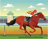 Purebred Horse Racing