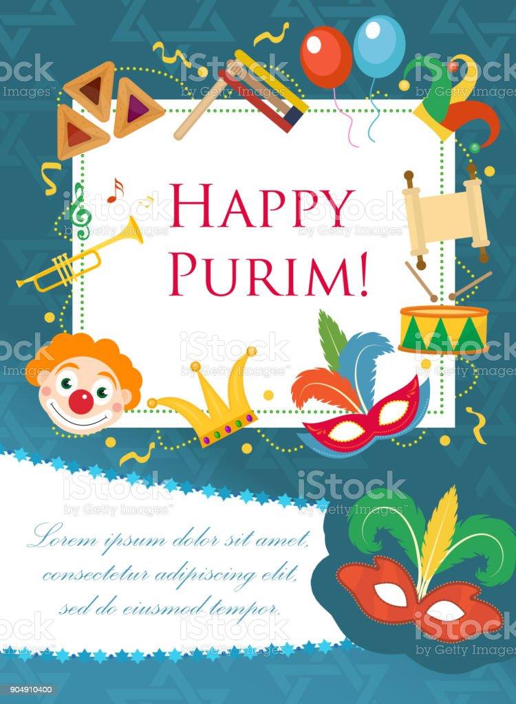 Purim Karneval Plakat Einladung Flyer Vorlagen Fur Ihr Design Mit