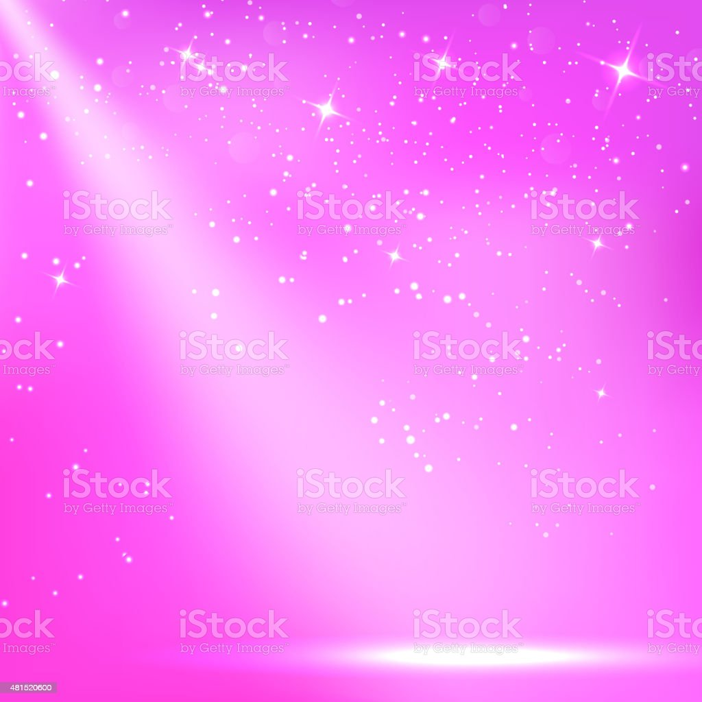 Purple a scenic with spotlight background. Vector illustrations vector art illustration