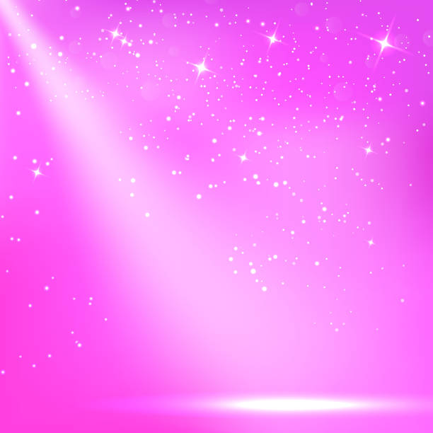 ilustraciones, imágenes clip art, dibujos animados e iconos de stock de púrpura de un pintoresco con foco de fondo. ilustraciones vectoriales - sparks